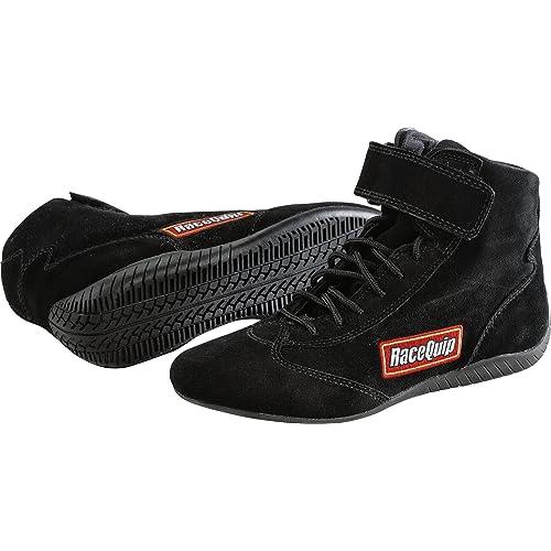 Renewed RaceQuip 30500110 Euro Carbon-L Series Size 11.0 Black SFI 3.3//5 Racing Shoes