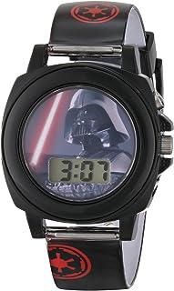 Star Wars Kids' DAR3517 Darth Vader Talking Watch With...