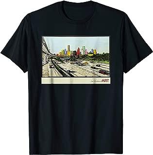 Houston Texas Skyline - BE SOMEONE T-Shirt