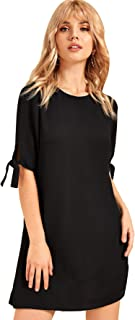 Milumia Women's Bohemian Vintage Off Shoulder Tunic Dress
