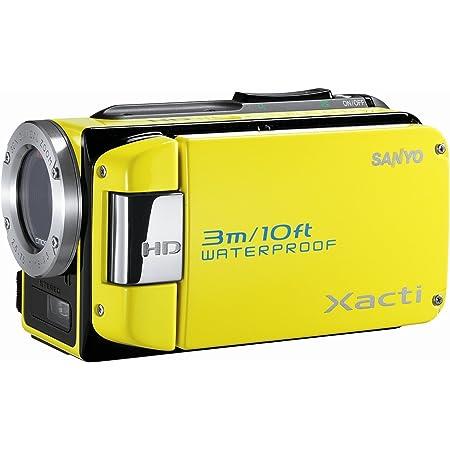 SANYO ハイビジョン 防水デジタルムービーカメラ Xacti (ザクティ) DMX-WH1 イエロー DMX-WH1(Y)