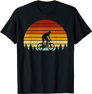 VTT Vintage Soleil Cadeau Pour Vététistes T-Shirt