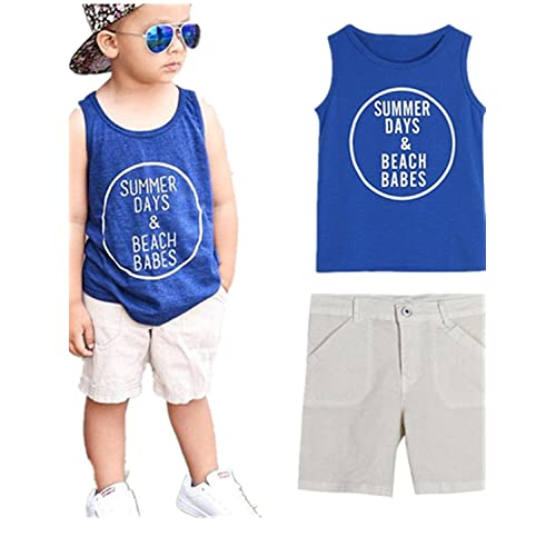 T-Shirt and Pant Set More Styles Available English Laundry Boys Vest