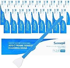 SANHOOII Dry APS-C Sensor Cleaning Swabs (CCD/CMOS), 20pcs 16mm DSLR or SLR Digital Camera Cleaning kit (No senrsor Cleaning Solution)