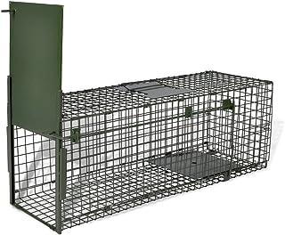 comprar comparacion Festnight Trampa Juala para Animales Vivios Trampa de Captura Trampa Ratas 1 Puerta