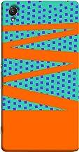 غطاء حماية سوني اكسبيريا Z1 من كلر كينج بنمط متعرج، متعدد الالوان