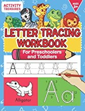 Letter Tracing Workbook For Preschoolers And Toddlers: A Fun ABC Practice Workbook To Learn The Alphabet For Preschoolers And Kindergarten Kids! Lots … Practice And Letter Tracing For Ages 3-5 PDF