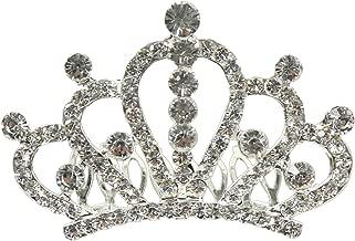 Breakfast at Tiffany's Sparkling Silver Tone Tiara Crown