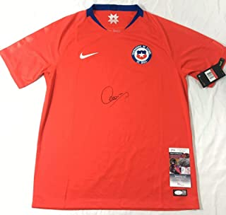 Alexis Sanchez Signed Jersey - Chile National Coa Copa America 2019 - JSA Certified - Autographed Soccer Jerseys