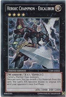 Heroic Champion - Excalibur - CT09-EN002 - Secret Rare