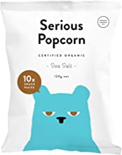 Serious Popcorn Sea Salt Popcorn 10 Pack, 120 g