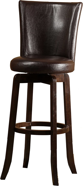 Hillsdale Furniture 4951-831 Copenhagen Swivel Bar Stool, Espresso