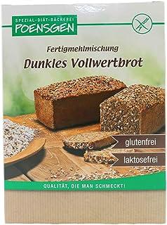 Dunkles Vollwertbrot Backmischung Glutenfrei 500 g 5,38 € / kg - Poensgen