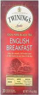 Twinings English Breakfast -- 20 Tea Bags