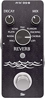 iSET Digital Reverb Guitar Pedal with 9 Modes Guitar...