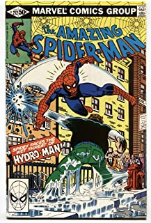 AMAZING SPIDER-MAN #212 First HYDRO MAN 1981 MARVEL VF+