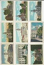 Postcard Lot of 9. Courthouses Ohio A. Bucyrus, Ravenna, Circleville, Troy, JFZ