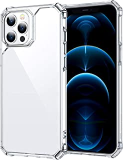 ESR Air Armor Case Compatible with iPhone 12/Compatible with iPhone 12 Pro (2020) [Drop Protection] [Shock-Absorbing Corners] Hard PC + Flexible TPU Frame, 6.1