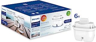 Filtre à eau Micro X Clean Philips AWP212. Cartouches pour filtration d'eau. Compatible avec les carafes Philips et les pr...