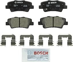 Bosch BC1313 QuietCast Premium Ceramic Disc Brake Pad Set For Hyundai: 2010-2017 Azera, 2009-2010 Elantra, 2008-2015 Sonata; Kia: 2007-2009 Amanti, 2011-2017 Optima, 2010-2013 Soul; Rear