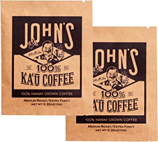 John's Ka'u coffee カウコーヒー 最高級 お試しセット ドリップパック 10g×2袋 エクストラファンシー ハワイ