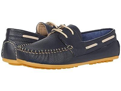 Elephantito Regatta Boat Shoe (Toddler/Little Kid/Big Kid) (Blue) Boy