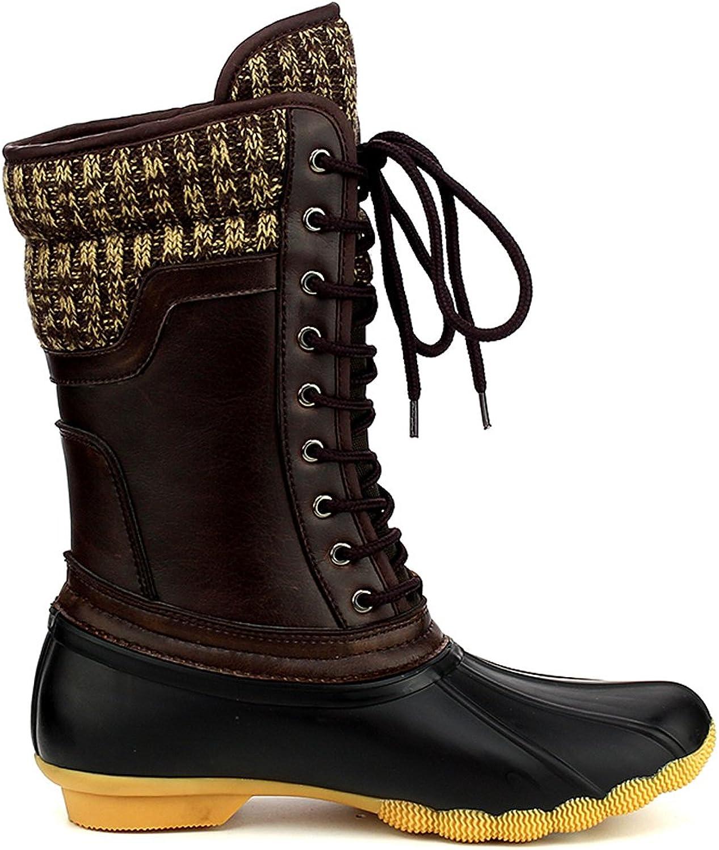 Refresh Women's Waterproof Rain Boots