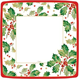Best square christmas paper plates Reviews
