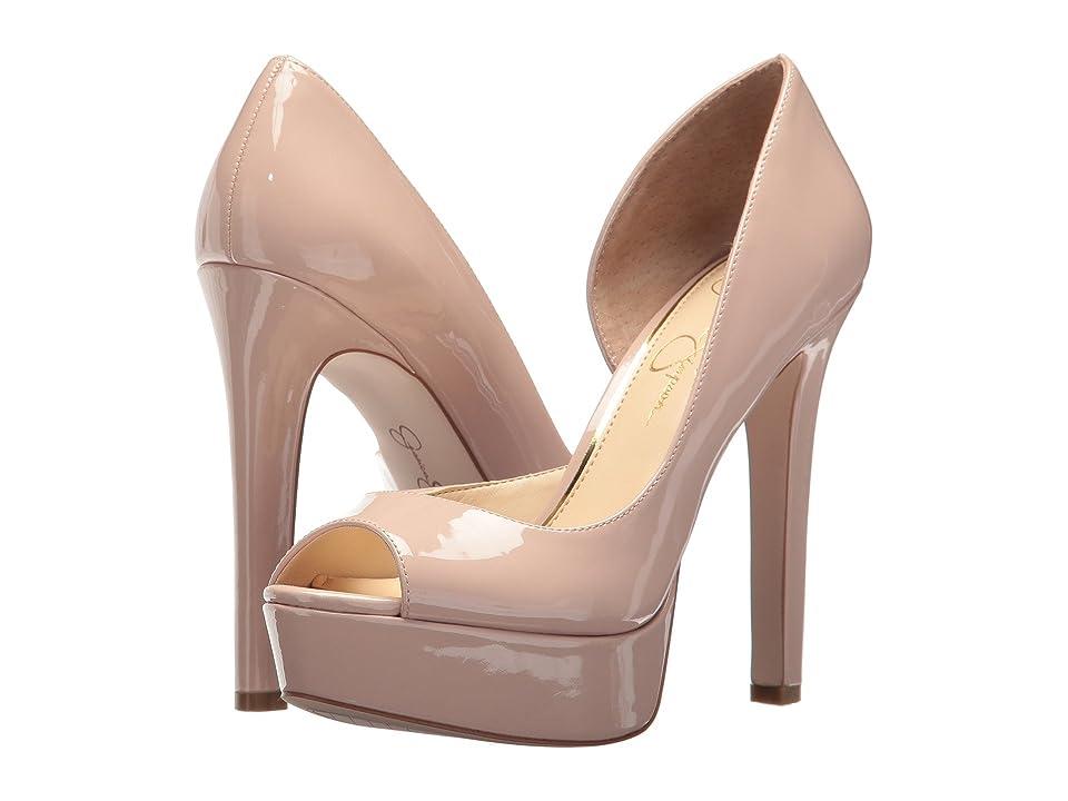 Jessica Simpson Martella (Nude Blush Patent) High Heels