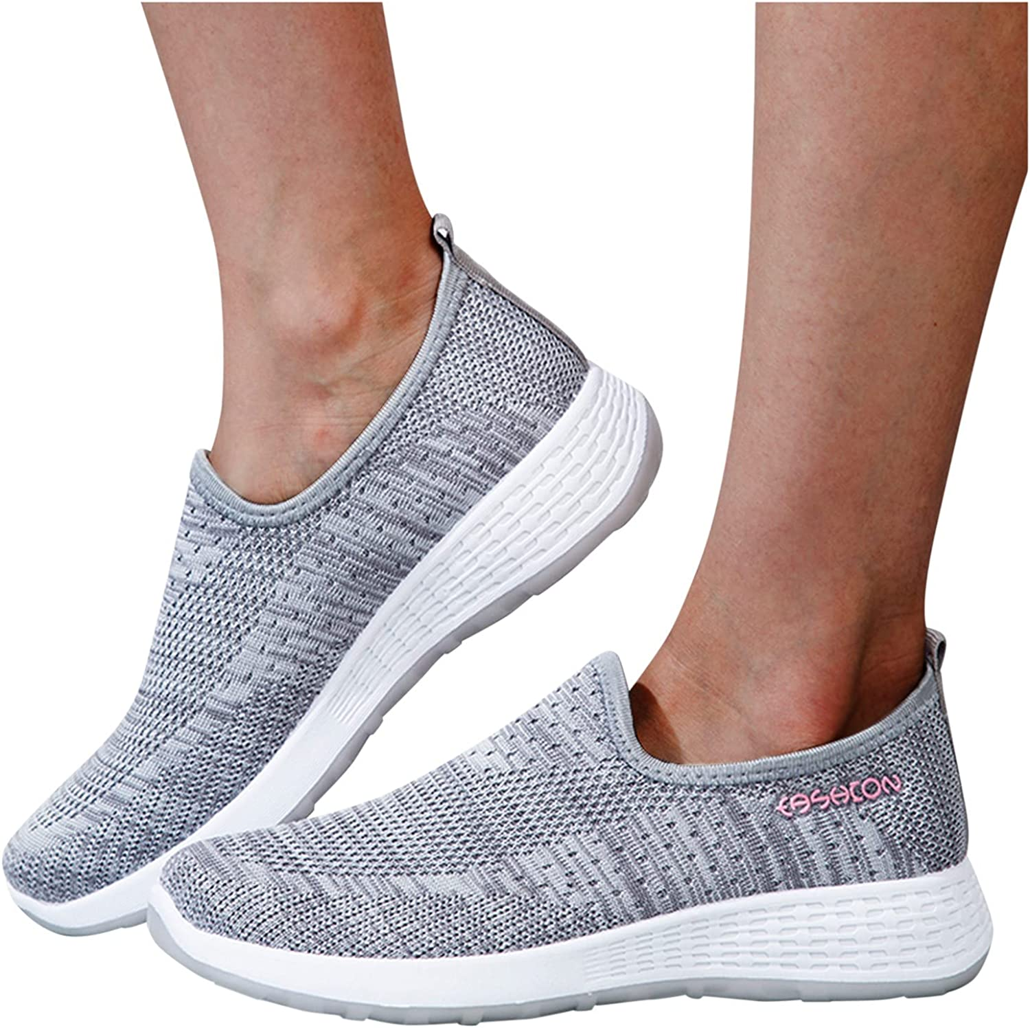 Masbird Sneakers for Women Fashion Latest item Shoes Sli Comfortable Running Now free shipping