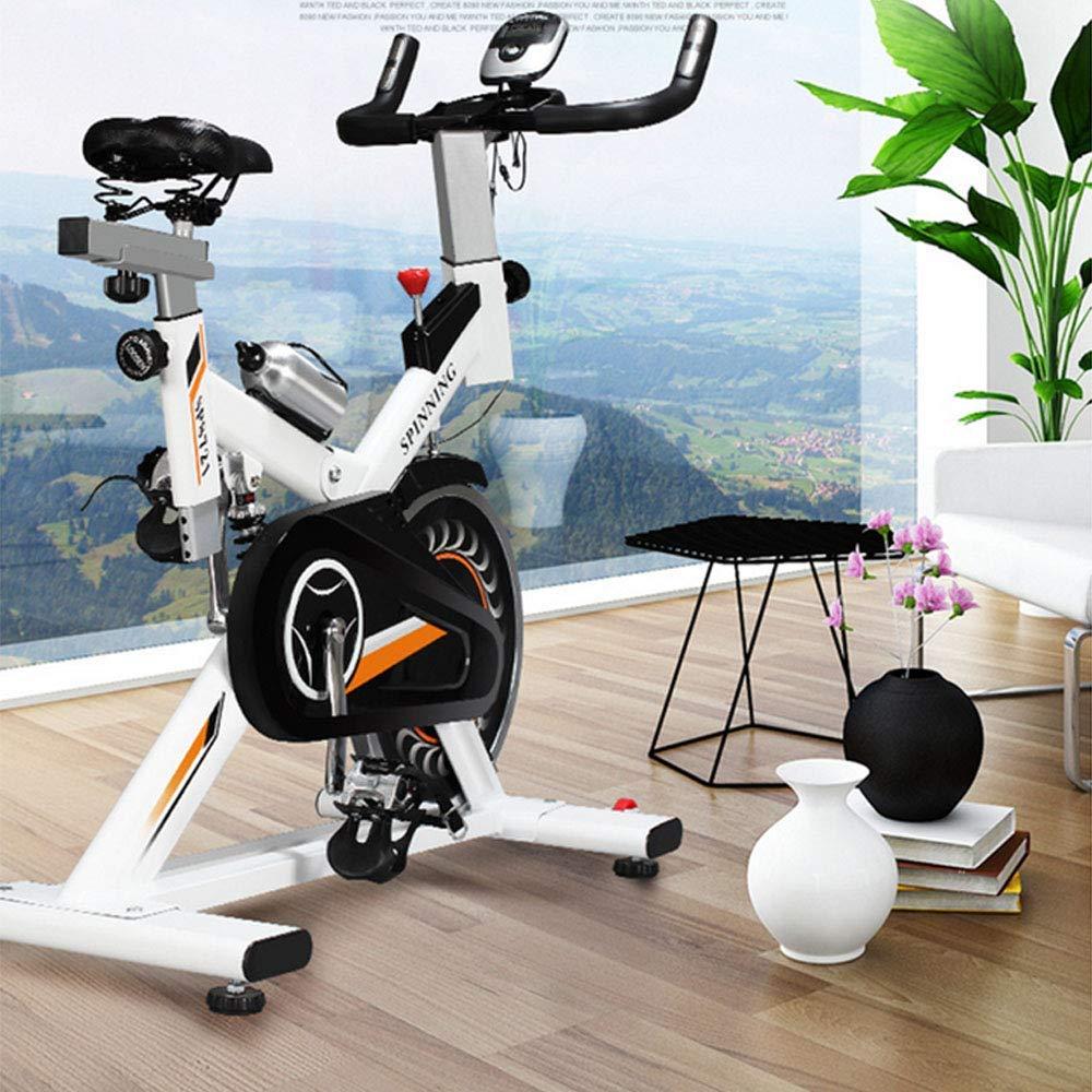 Hogar Blanco Bicicleta De Spinning - Aerobic Office Multi ...