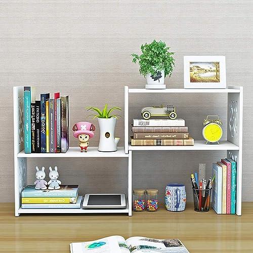precios bajos todos los dias TLMYDD Estantería de Escritorio Librería retráctil acodada Libros misceláneos Caja Caja Caja de ahorros Gabinete de exhibición 70x17x40cm librero  alta calidad general
