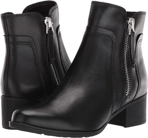 Black Waterproof Leather