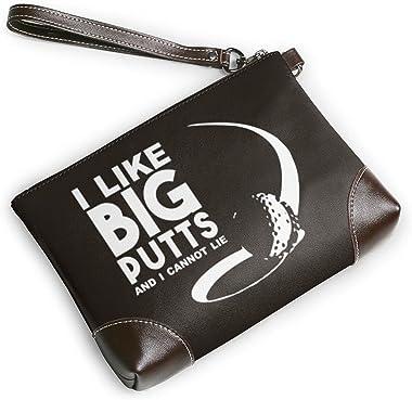 mengmeng I like big putts and I can't lie 1 bolso de pulsera cuero genuino bolsos de pulsera para las mujeres bolso de em