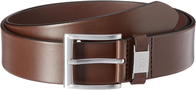 Size 38 HUGO BOSS Joel Brown Leather Belt