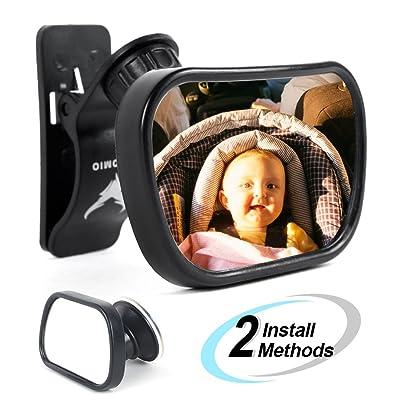 Baby Mirror Car Back Seat Mirror AOTOMIO Adjust...
