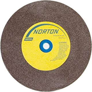 NORTON 66253144536 10 X 1 X 1-1//4 MEDIUM TYPE 01 STRAIGHT GEMINI BENCH /& PEDESTAL GRINDING WHEEL