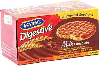 マクビティ ミルク チョコレート ダイジェスティブ 200g×12 全粒粉クッキー 全粒粉 ビスケット イギリスのおかし 英国 お菓子 輸入菓子
