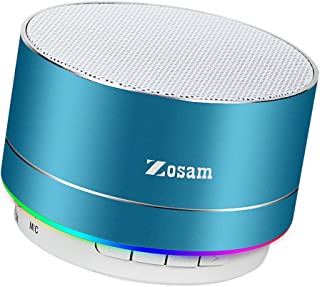 Zosam Mini Wireless Speaker, Portable Bluetooth Speaker with HD Sound, 4H Playing Time, Built-in Mic, SD/TF Card Slot, FM ...