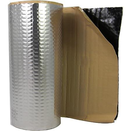 2m Alubutyl Dämmmatte Anti Dröhn Matte Bitumen Ersatz Elektronik