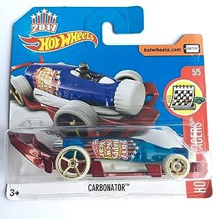 Hot Wheels 2017 Holday Racers Carbonator (Bottle Car) 53/365, Blue