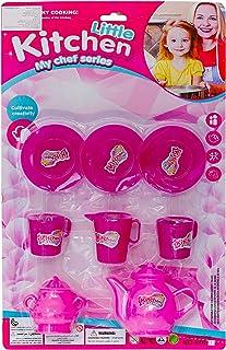 Kitchen Cook Set Toys for Girls - Multi Color