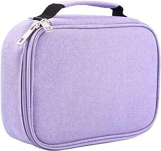 Pencil Case, Pencil Bag 72 Slots Colored Kawaii Pencil Organizer Multifunction Detachable Large Capacity Pen Holder Students Stationery Cosmetic Bag Cosmetic Bag Purple