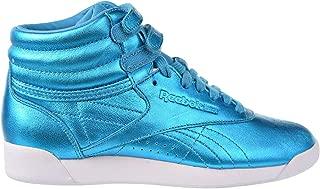 Reebok Women's Freestyle Hi Metallic Fashion Sneaker
