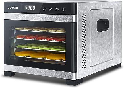 COSORI Food Dehydrator Machine, Stainless Steel Digital Food Dryer with Recipe Book,Countdown...