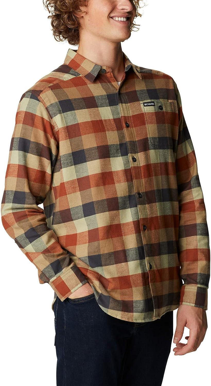 Columbia Men's Cornell Woods Flannel Long Sleeve Shirt