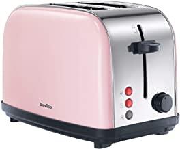 Breville Pick and Mix 2 Slice Toaster - Strawberry Cream
