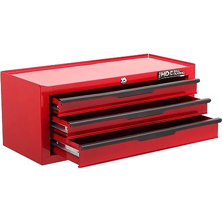 Hilka G301C3BBS Coffre de rangement /à outils robuste 3/tiroirs
