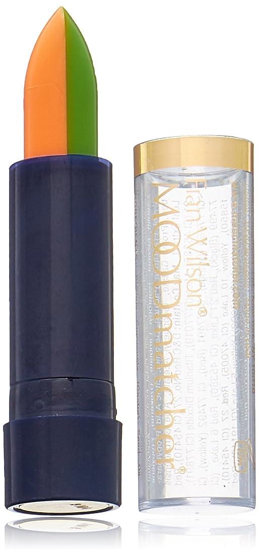 先に強化番号Fran Wilson MOODMATCHER Split Stick Lip Color Green/Orange (並行輸入品)