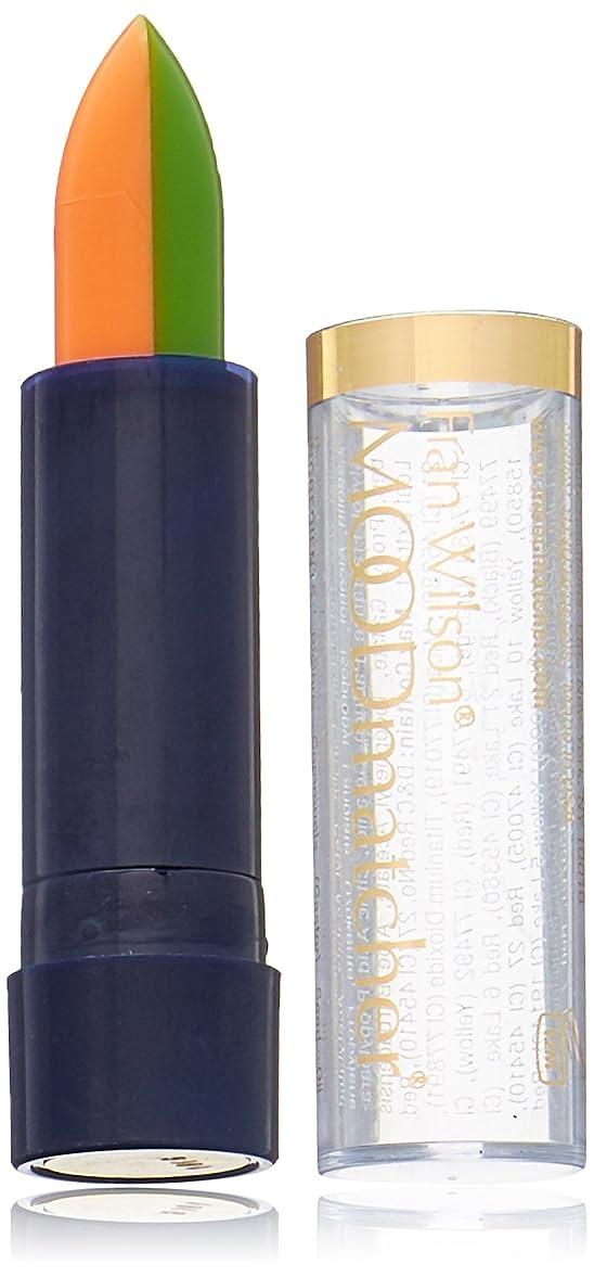 レイア有用七面鳥Fran Wilson MOODMATCHER Split Stick Lip Color Green/Orange (並行輸入品)